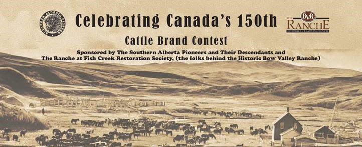 Celebrating Canada's 150th : Cattle Brand Contest